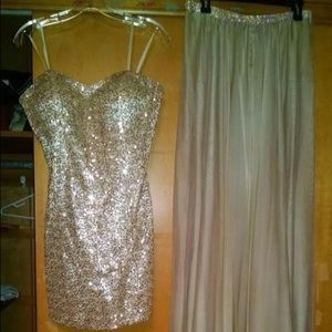 2-in-1 prom/homecoming dress